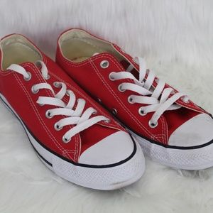 Converse All Star Red Tennis Shoes